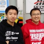 JJ Wang at the AOC Japan Yatabe Race