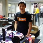 JJ Wang at the RCI Farewell Race