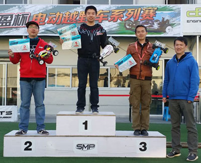 JJ Wang at the Hobby Wing 2WD Race