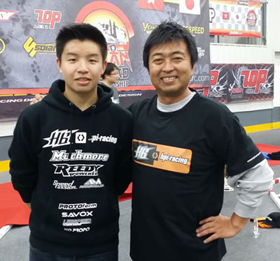 JJ and Toshihiko Hara
