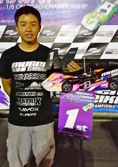 JJ at the Taiwan Mugen Nitro Cup